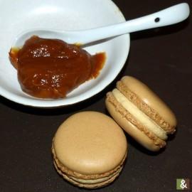 Caramel beurre salé - Boite de 12 macarons