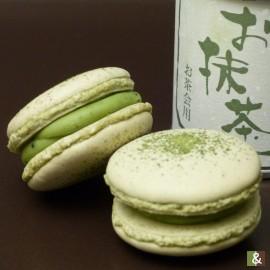 Thé vert Matcha - Boite de 12 macarons