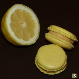 Citron - Boite de 12 macarons