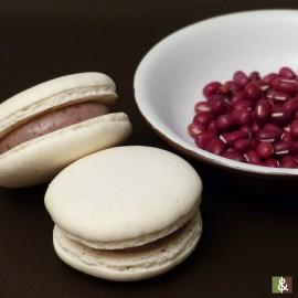 Azuki - Confiture de haricot rouge - Boite de 12 macarons