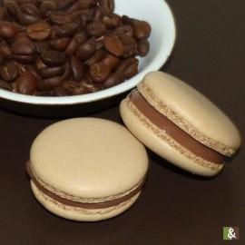 Café - Boite de 12 macarons